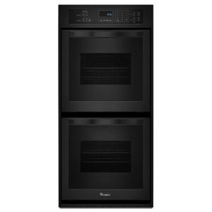 Whirlpool6.2 Cu. Ft. Double Wall Oven with High-Heat Self-Cleaning System Black