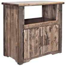 Homestead Collection Utility Cabinet, Stain and Lacquer Finish