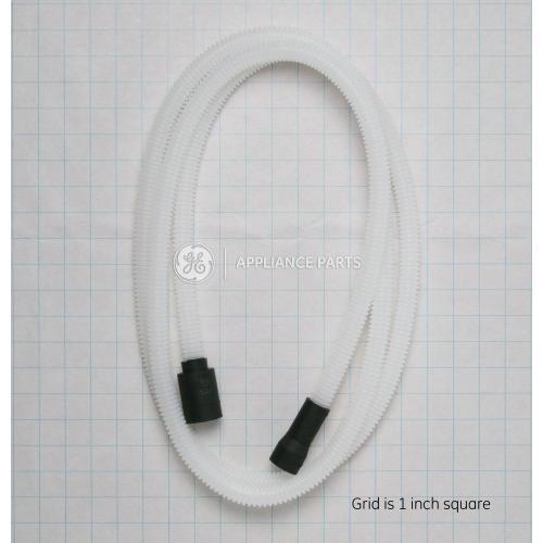 GE Appliances - 10 foot large port dishwasher connector drain hose