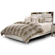 Queen Upholstered Bed 2 PC