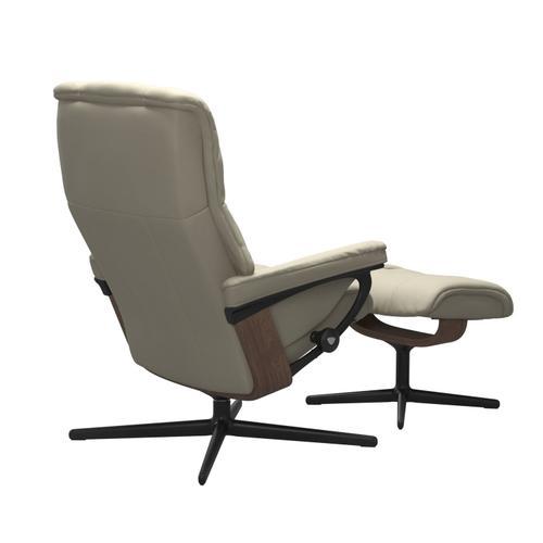 Stressless By Ekornes - Stressless® Mayfair (M) Cross Chair with Ottoman