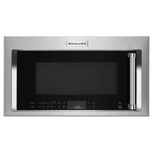 """30"""" 1000-Watt Microwave Hood Combination with Convection Cooking - PrintShield Stainless Product Image"""