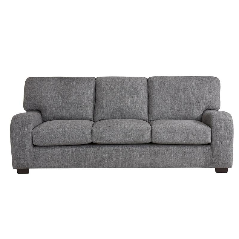 Sofa - Shown in 118-09 Salt \u0026 Pepper Chenille Finish