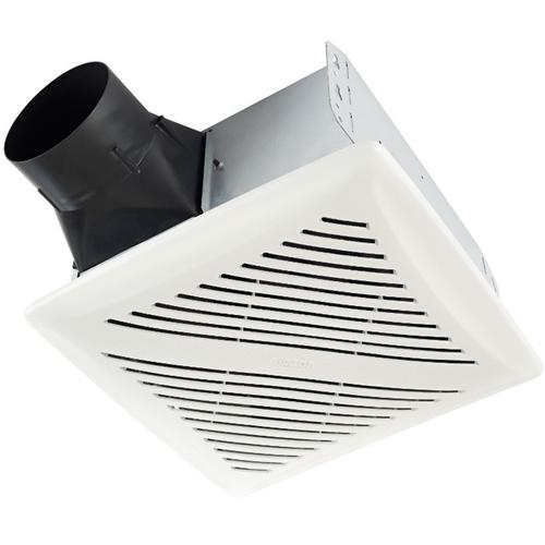 Flex DC Series Humidity Sensing Bathroom Exhaust Fan with selectable CFM Settings, ENERGY STAR® certified