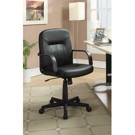 See Details - Contemporary Black Office Chair