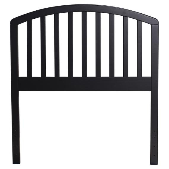 Carolina Twin Headboard, Black