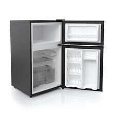 3.1 Cu. Ft. Double Door Compact Refrigerator