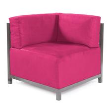 Axis Corner Chair Regency Fuchsia Titanium Frame