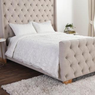 Matira Antique Cream 3Pc Comforter King Set EV