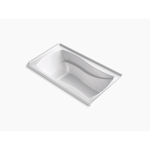 "Biscuit 66"" X 36"" Integral Flange Heated Bubblemassage Air Bath With Right-hand Drain"