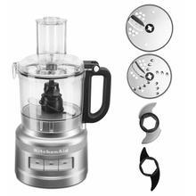 See Details - KitchenAid® 7 Cup Food Processor Plus - Contour Silver