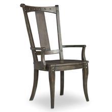 Dining Room Vintage West Splatback Arm Chair - 2 per carton/price ea