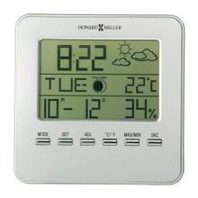 See Details - Howard Miller Weather View Digital Alarm & Table Clock 645693