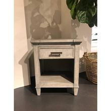 Willow Telephone Table - Pewter