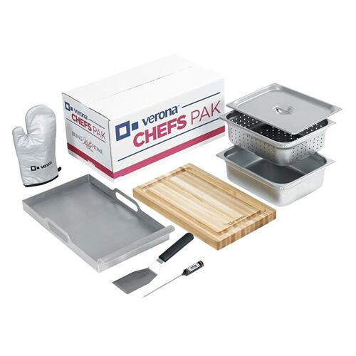 Verona - CHEFS PAK - 8 Piece Accessory Kit - 25 lbs.