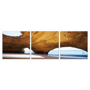 Gallery - Modrest Dome 3-Panel Photo On Canvas