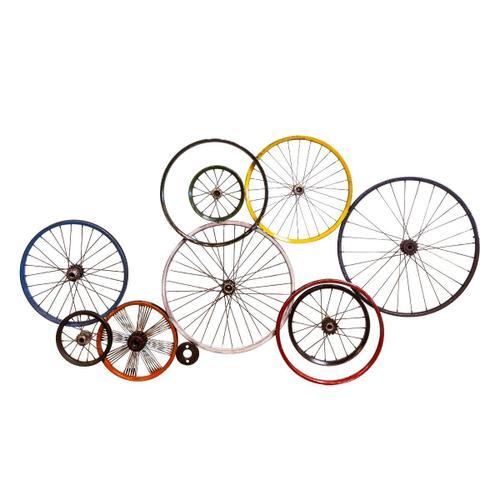 Peloton Abstract Wheel Panel