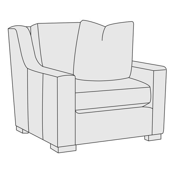 Germain Chair in Mocha (751)