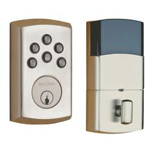 Satin Nickel Soho AC Z-Wave Deadbolt