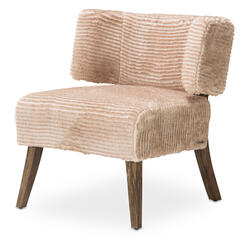 Halfmoon Curved Back Chair