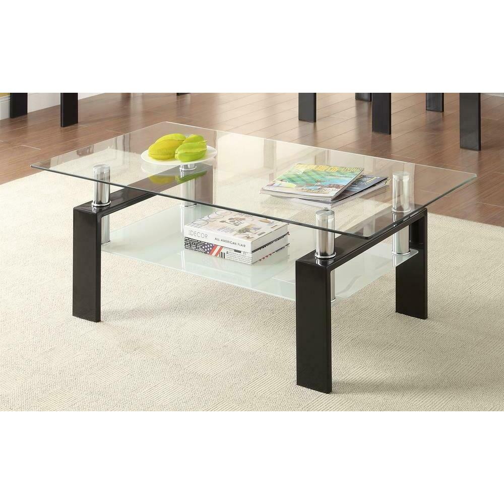 See Details - Occasional Contemporary Black Coffee Table