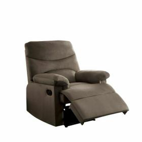 ACME Arcadia Recliner - 00703 - Light Brown Fabric
