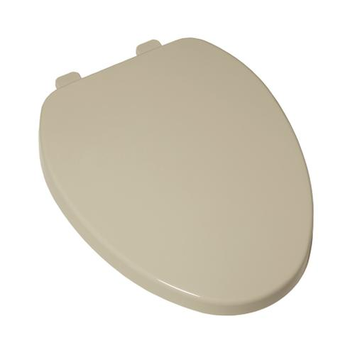 Telescoping Elongated Toilet Seat With Slow-Close and EverClean - Bone
