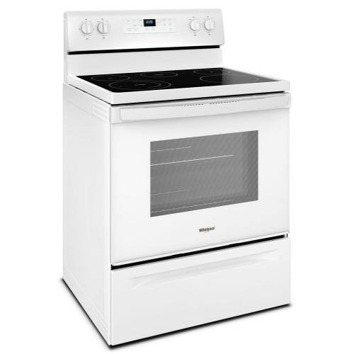Whirlpool - 5.3 cu. ft. Freestanding Electric Range with 5 Elements