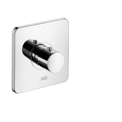 Brushed Gold Optic Thermostat for concealed installation