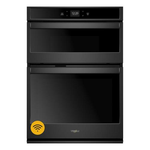 Whirlpool - 6.4 cu. ft. Smart Combination Wall Oven with Touchscreen