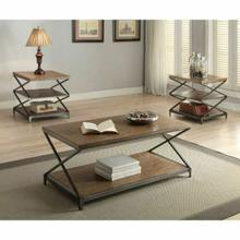 ACME Fabio Coffee Table - 80445 - Oak & Antique Black