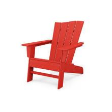 View Product - The Wave Chair Right in Sunset Red