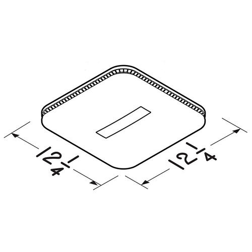 Broan - Broan Flex™ Series Humidity Sensing Ventilation Fan Housing Pack with Flange Kit