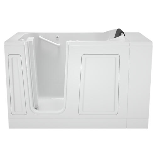 Acrylic Luxury Series 30x51 Left Drain Walk-in Bathtub with Air Spa System  American Standard - White