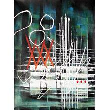 See Details - Modrest ADC3510 - Abstract Oil Painting