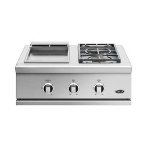 "Dcs30"", Series 9, Griddle/side Burner, Lp Gas"