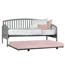 Carolina Complete Twin Size Daybed With Trundle, Gray