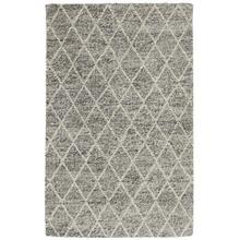 View Product - Diamond Looped Wool Gray 5x8