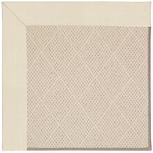 Creative Concepts-White Wicker Canvas Sand Machine Tufted Rugs