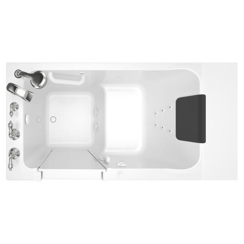 Acrylic Luxury Series 30x51 Walk-in Tub with Whirlpool System Left Drain  American Standard - White