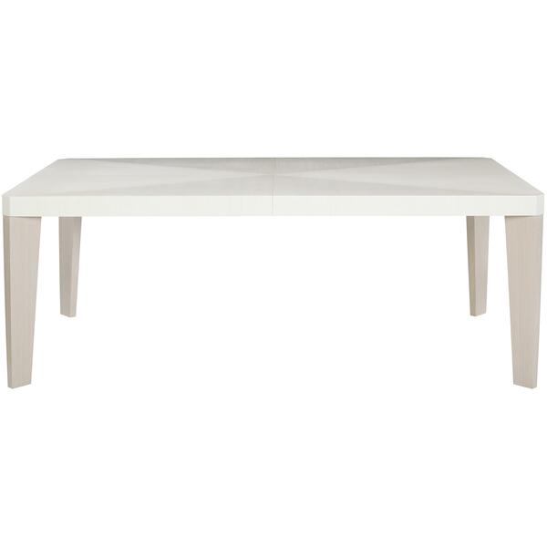 Axiom Dining Table in Linear Gray (381), Linear White (381)