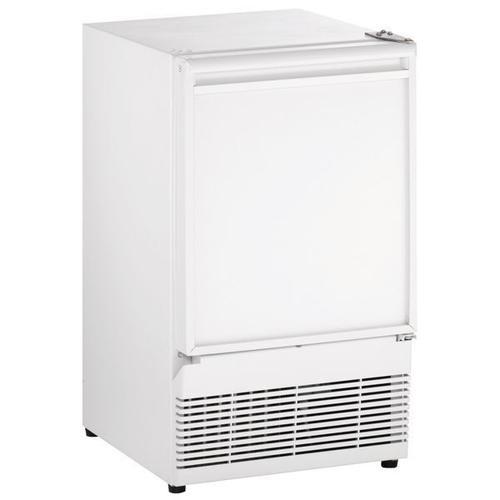 "U-Line - Bi98 15"" Crescent Ice Maker With White Solid Finish (115 V/60 Hz Volts /60 Hz Hz)"