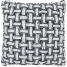 "Life Styles Dc475 Grey 20"" X 20"" Throw Pillow"