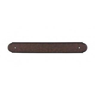 Top Knobs - Plain Back Plate 12 Inch (c-c) - Patina Rouge