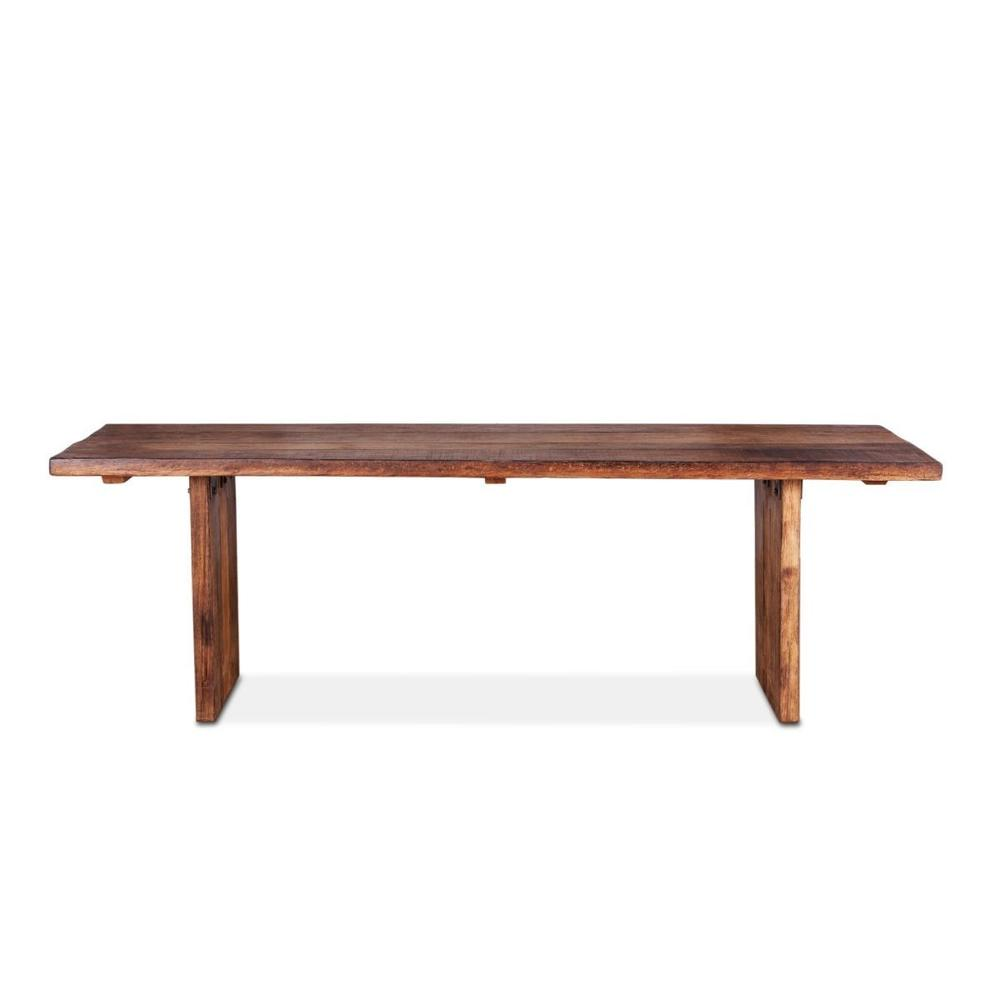 """See Details - Barnwood 94"""" Dining Table Natural"""