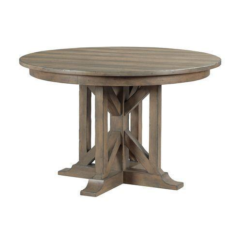 Mill House Manning Round Dining Table - Complete