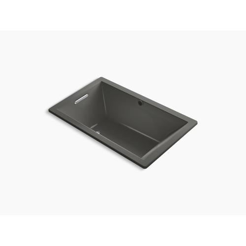 "Thunder Grey 60"" X 36"" Drop-in Vibracoustic Bath With Bask Heated Surface"