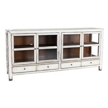 "77"" 4 Drawer/4 Door Console"