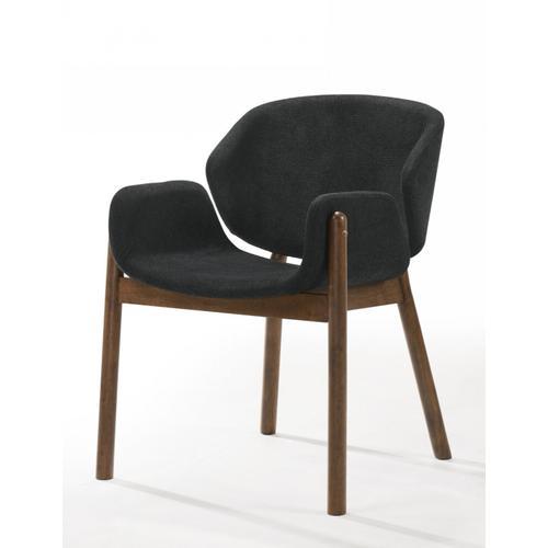 VIG Furniture - Modrest Jozy - Modern Grey & Walnut Dining Chair (Set of 2)