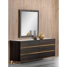 See Details - Nova Domus Velondra - Modern Eucalypto + Marble Dresser